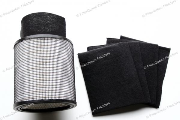 Koolstoffilter FilterQueen Defender
