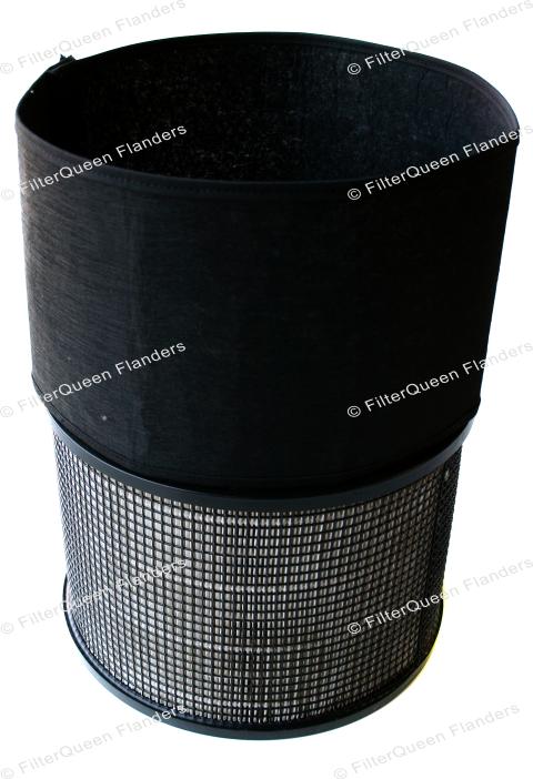 Filtercartridge en koolstoffilter voor FilterQueen Defender 4000 luchtzuiveraar